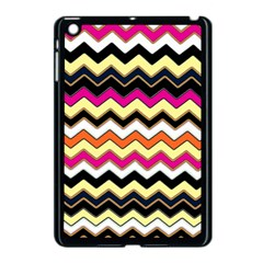 Colorful Chevron Pattern Stripes Apple Ipad Mini Case (black)