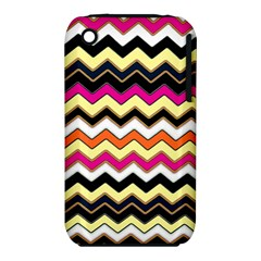 Colorful Chevron Pattern Stripes Iphone 3s/3gs