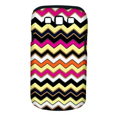 Colorful Chevron Pattern Stripes Samsung Galaxy S Iii Classic Hardshell Case (pc+silicone)
