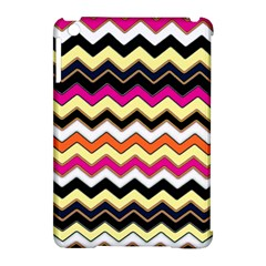 Colorful Chevron Pattern Stripes Apple iPad Mini Hardshell Case (Compatible with Smart Cover)
