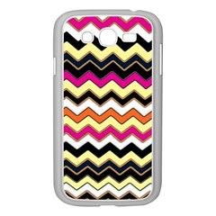 Colorful Chevron Pattern Stripes Samsung Galaxy Grand Duos I9082 Case (white)