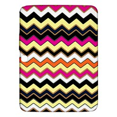 Colorful Chevron Pattern Stripes Samsung Galaxy Tab 3 (10 1 ) P5200 Hardshell Case