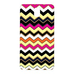 Colorful Chevron Pattern Stripes Samsung Galaxy Note 3 N9005 Hardshell Back Case