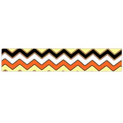 Colorful Chevron Pattern Stripes Flano Scarf (Large)