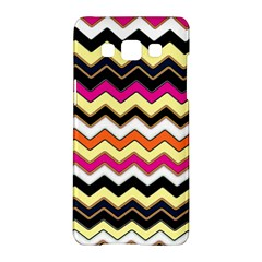 Colorful Chevron Pattern Stripes Samsung Galaxy A5 Hardshell Case