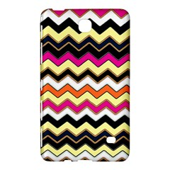 Colorful Chevron Pattern Stripes Samsung Galaxy Tab 4 (8 ) Hardshell Case