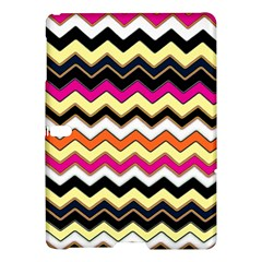 Colorful Chevron Pattern Stripes Samsung Galaxy Tab S (10.5 ) Hardshell Case