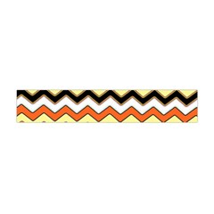 Colorful Chevron Pattern Stripes Flano Scarf (mini)