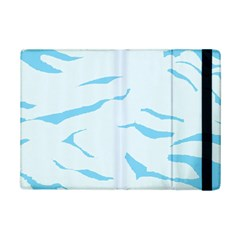 Blue Tiger Animal Pattern Digital Ipad Mini 2 Flip Cases