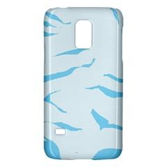 Blue Tiger Animal Pattern Digital Galaxy S5 Mini