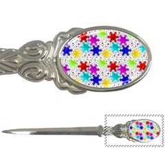 Snowflake Pattern Repeated Letter Openers