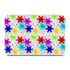 Snowflake Pattern Repeated Plate Mats
