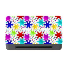 Snowflake Pattern Repeated Memory Card Reader With Cf