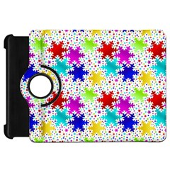 Snowflake Pattern Repeated Kindle Fire Hd 7