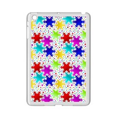 Snowflake Pattern Repeated Ipad Mini 2 Enamel Coated Cases