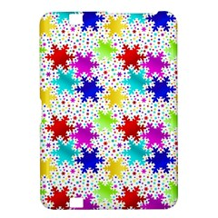 Snowflake Pattern Repeated Kindle Fire Hd 8 9