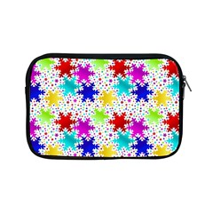 Snowflake Pattern Repeated Apple Ipad Mini Zipper Cases