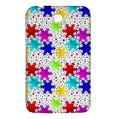Snowflake Pattern Repeated Samsung Galaxy Tab 3 (7 ) P3200 Hardshell Case