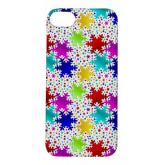 Snowflake Pattern Repeated Apple Iphone 5s/ Se Hardshell Case