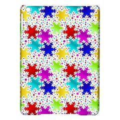 Snowflake Pattern Repeated Ipad Air Hardshell Cases