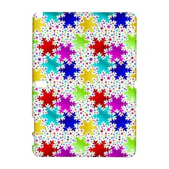 Snowflake Pattern Repeated Galaxy Note 1