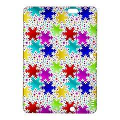 Snowflake Pattern Repeated Kindle Fire Hdx 8 9  Hardshell Case