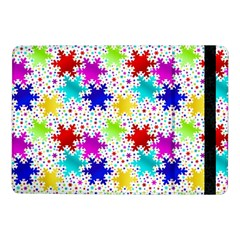 Snowflake Pattern Repeated Samsung Galaxy Tab Pro 10 1  Flip Case