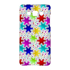 Snowflake Pattern Repeated Samsung Galaxy A5 Hardshell Case