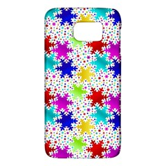 Snowflake Pattern Repeated Galaxy S6