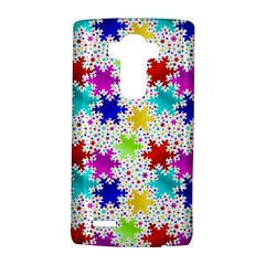 Snowflake Pattern Repeated Lg G4 Hardshell Case