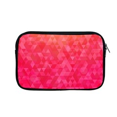 Abstract Red Octagon Polygonal Texture Apple Macbook Pro 13  Zipper Case