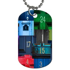 Door Number Pattern Dog Tag (two Sides)