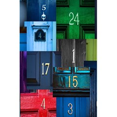 Door Number Pattern 5 5  X 8 5  Notebooks