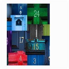 Door Number Pattern Small Garden Flag (two Sides)