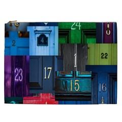 Door Number Pattern Cosmetic Bag (xxl)