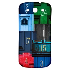 Door Number Pattern Samsung Galaxy S3 S Iii Classic Hardshell Back Case