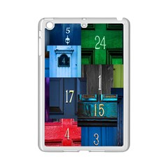 Door Number Pattern Ipad Mini 2 Enamel Coated Cases