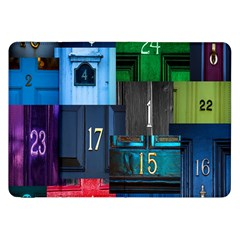 Door Number Pattern Samsung Galaxy Tab 8 9  P7300 Flip Case