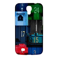 Door Number Pattern Samsung Galaxy Mega 6 3  I9200 Hardshell Case