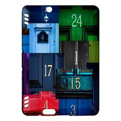 Door Number Pattern Kindle Fire Hdx Hardshell Case