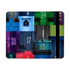 Door Number Pattern Samsung Galaxy Tab Pro 8 4  Flip Case