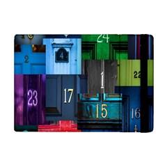 Door Number Pattern Ipad Mini 2 Flip Cases