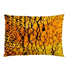 Yellow Chevron Zigzag Pattern Pillow Case (two Sides)