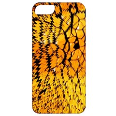 Yellow Chevron Zigzag Pattern Apple Iphone 5 Classic Hardshell Case