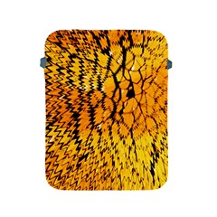 Yellow Chevron Zigzag Pattern Apple Ipad 2/3/4 Protective Soft Cases
