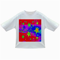 Red Background With A Stars Infant/toddler T Shirts