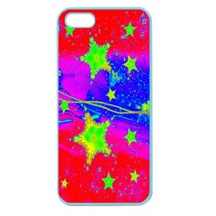 Red Background With A Stars Apple Seamless Iphone 5 Case (color)