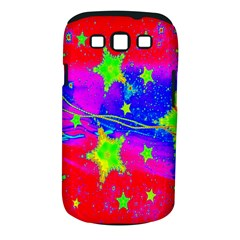Red Background With A Stars Samsung Galaxy S Iii Classic Hardshell Case (pc+silicone)