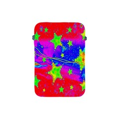 Red Background With A Stars Apple Ipad Mini Protective Soft Cases