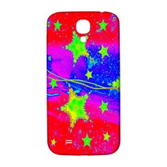 Red Background With A Stars Samsung Galaxy S4 I9500/i9505  Hardshell Back Case